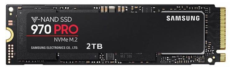Samsung готовит 2 ТБ версию накопителя 970 Pro