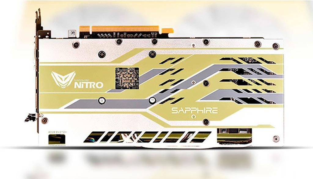 Nitro+ Radeon RX 590 50th Anniversary Edition – видеокарта к 50-летию AMD от Sapphire