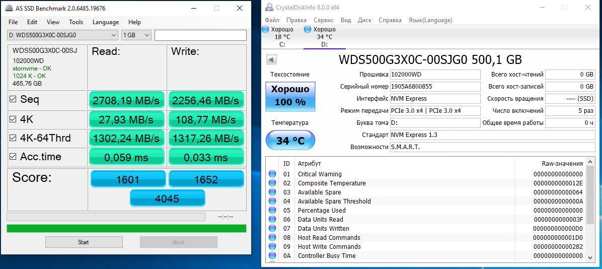 Обзор NVMe SSD-накопителя Western Digital Black SN750 500 ГБ. Прошлогодняя «конфетка» уже не так сладка
