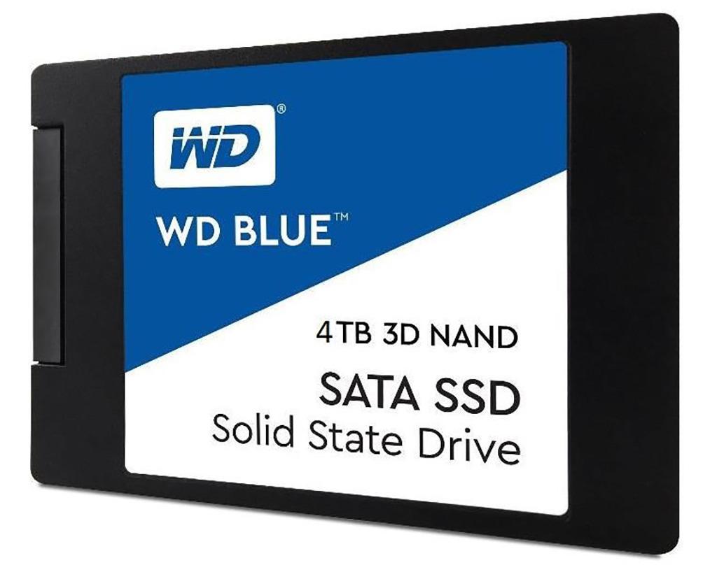 Готовится 4 ТБ-модификация накопителя Western Digital WD Blue 3D