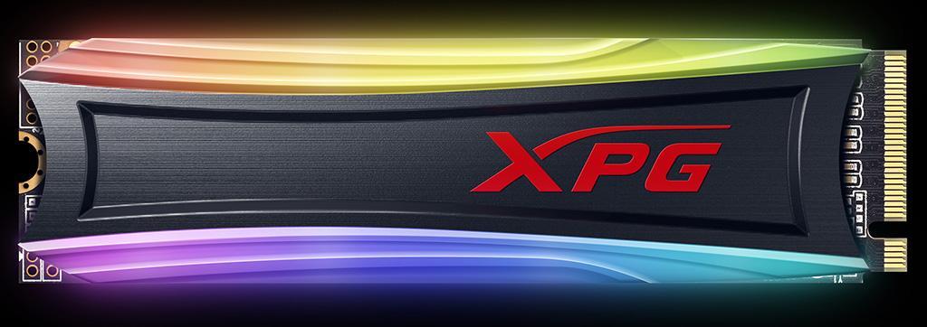 ADATA XPG Spectrix S40 RGB – ещё одна линейка NVMe-накопителей с RGB-подсветкой