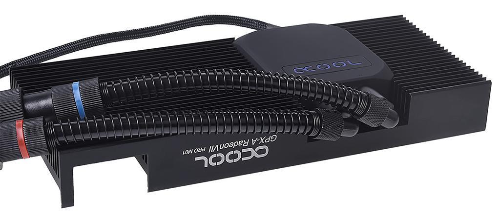 Alphacool для AMD Radeon VII предлагает СВО с 240 мм медным радиатором