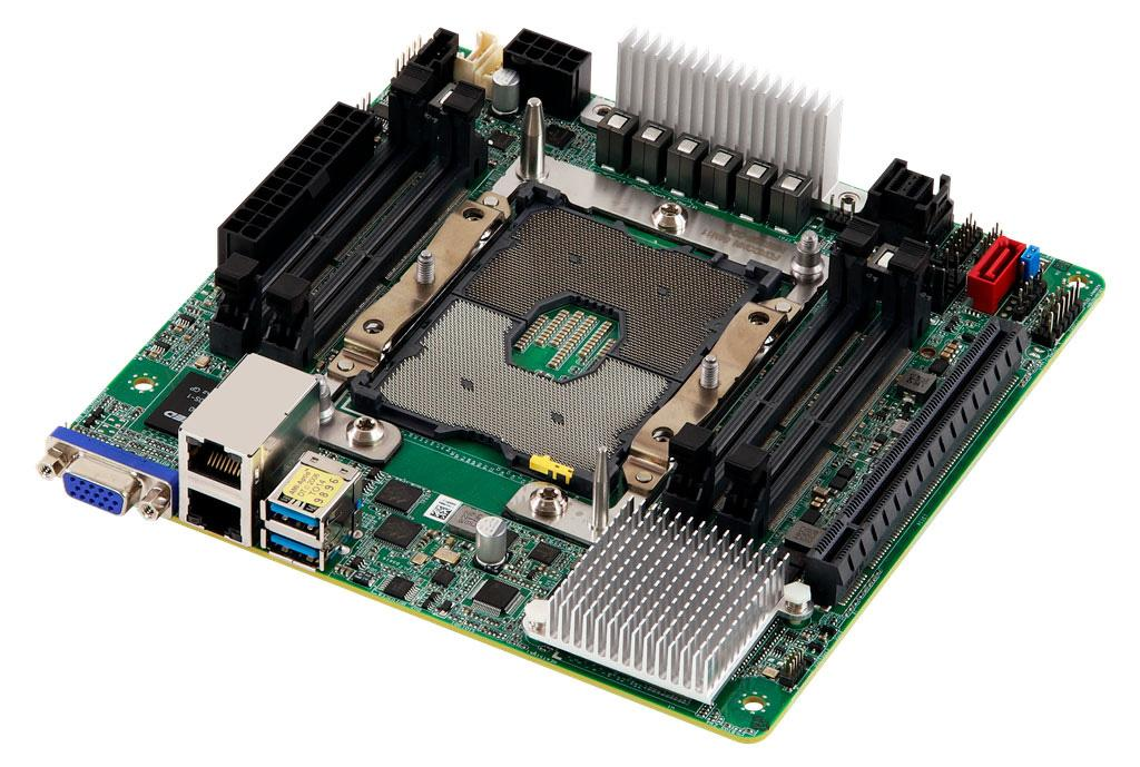 ASRock замахнулась на поддержку 28-ядерных процессоров в формате mini-ITX