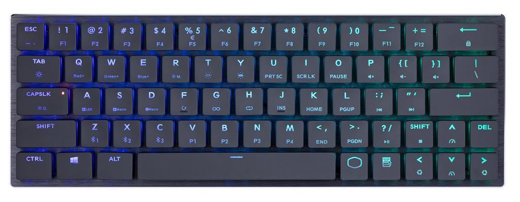 Cooler Master предлагает беспроводную механическую клавиатуру SK621 с Bluetooth