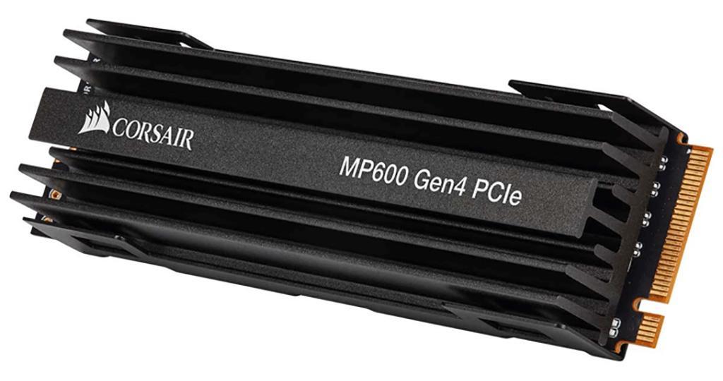 Corsair представила накопители Force MP600 с интерфейсом PCI-Express 4.0