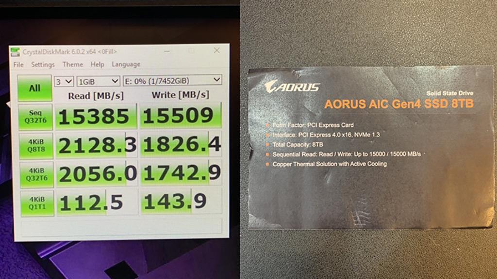 Computex 2019: накопитель Gigabyte Aorus в формате PCI-E 4.0 x16 обеспечивает 15,5 ГБ/с