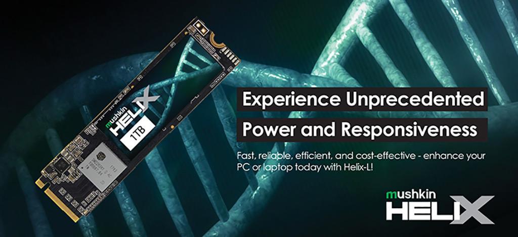 Mushkin выпускает SSD-накопители Helix-L в формате M.2: 1 ТБ всего за 8