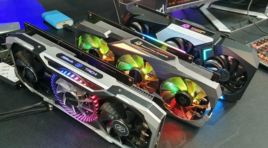 Говорят, уровень TDP видеокарт AMD Radeon RX 5700 равен 150 Вт и 180 Вт