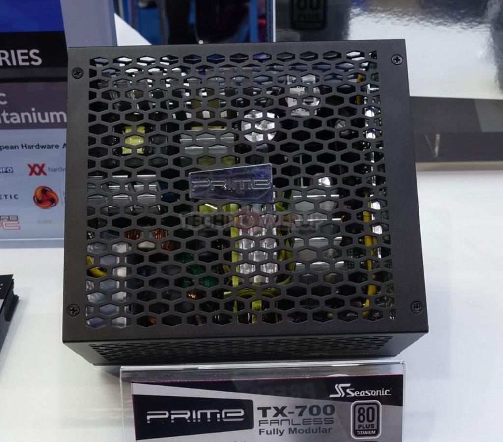 Computex 2019: стенд SeaSonic. Самый мощный безвентиляторный БП и не только