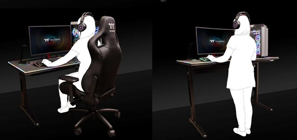 Thermaltake Level 20 RGB Battlestation Gaming Desk – игровой стол за $1200