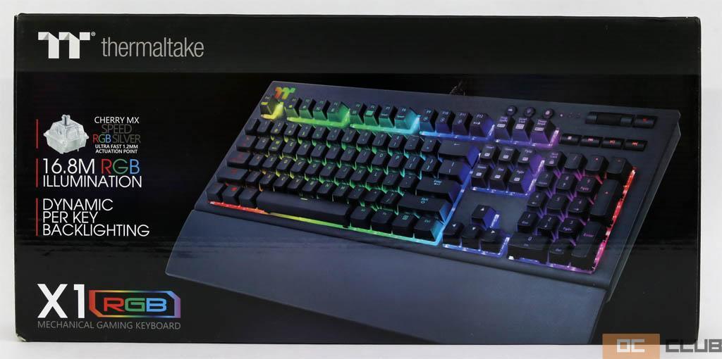 Обзор механической игровой клавиатуры Thermaltake X1 RGB. Топ подсветка и уникальные функции