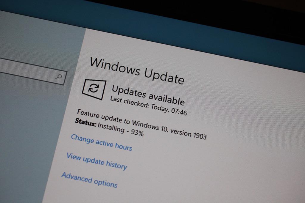 Вышло долгожданное майское обновление Windows 10 May 2019 (Build 1903)