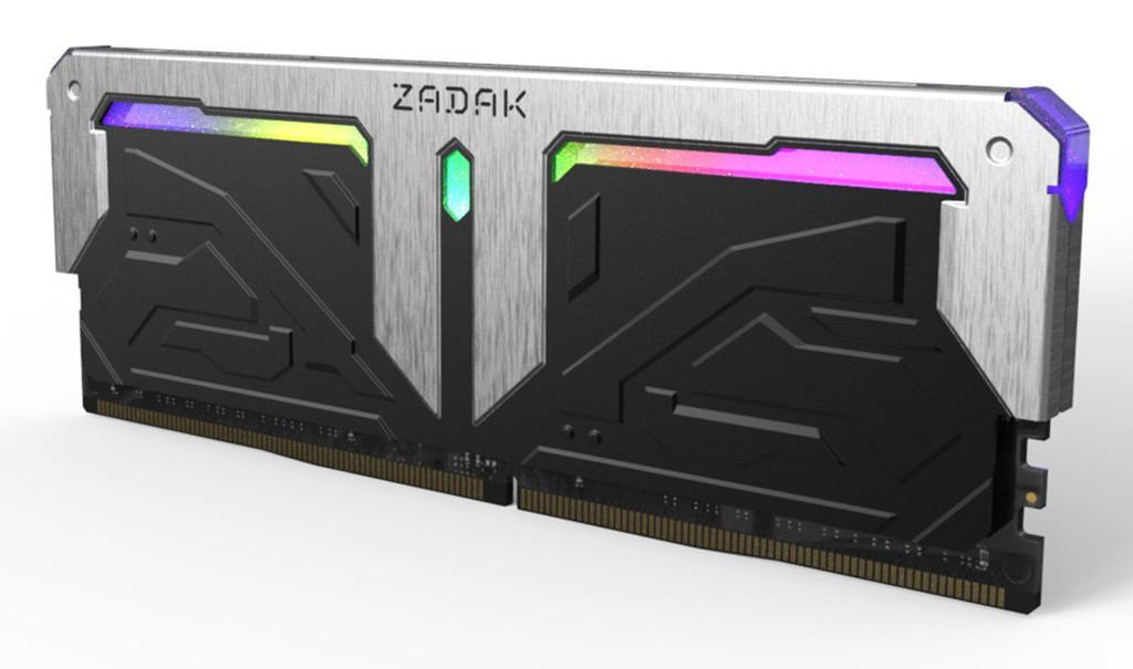 Zadak предлагает комплекты памяти Spark DDR4 RGB