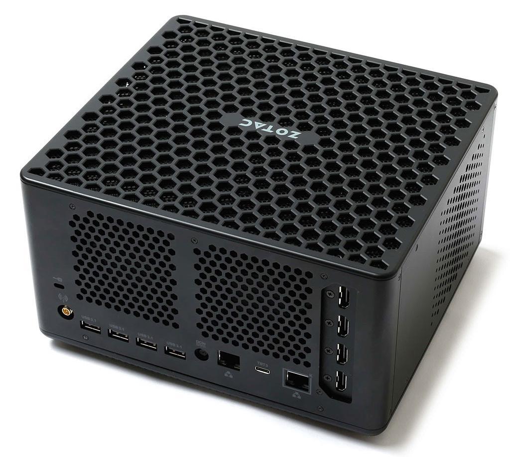 Zotac представила мини-ПК ZBox QX на базе процессоров Xeon и графики Quadro