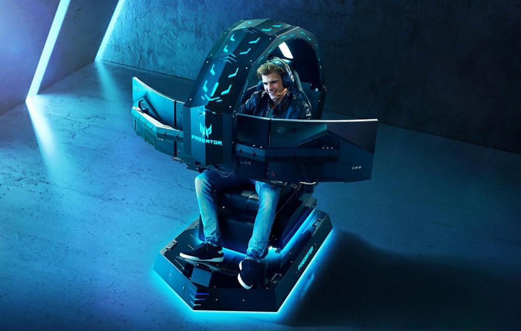 """""""Игровой трон"""" Acer Predator Thronos оценен в 18000 евро в минимальной комплектации"""
