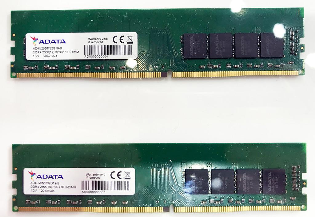 """У ADATA есть 32 Гб модули DDR4, и это не """"Double Capacity"""""""
