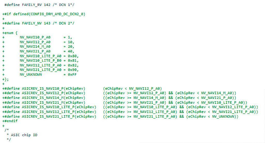 В Linux-драйверах найдены не анонсированные графические процессоры AMD Navi