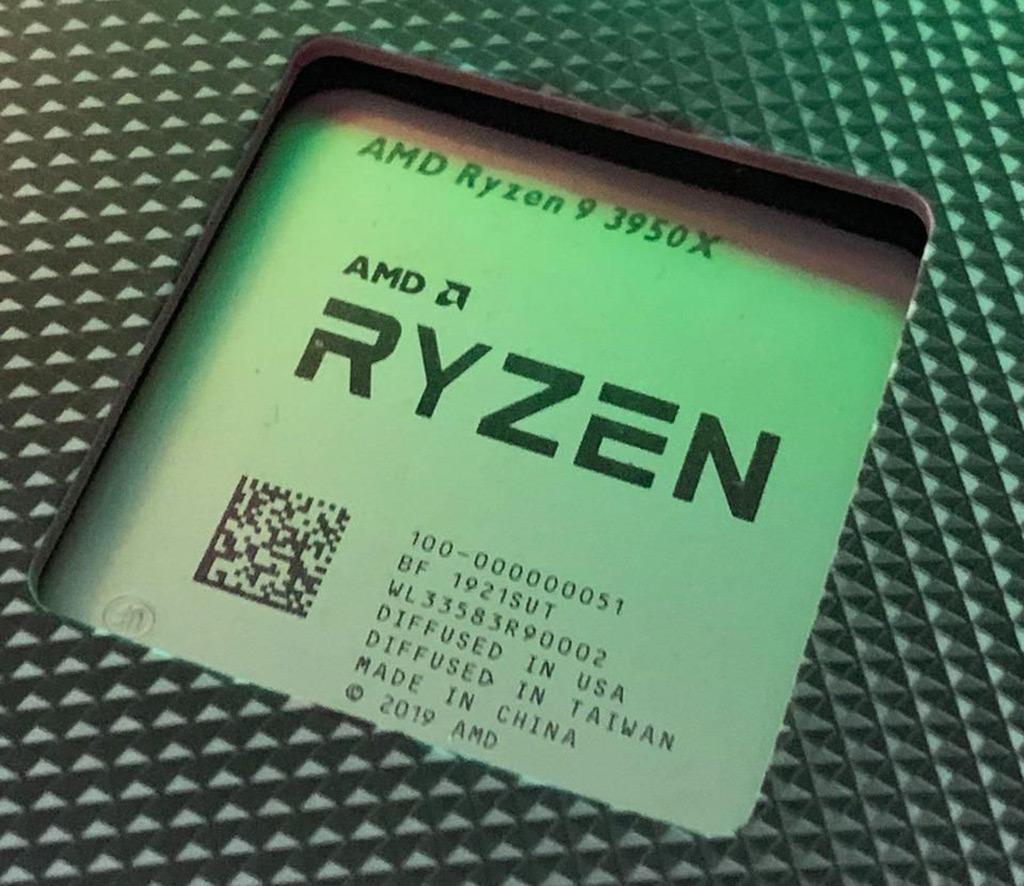 Крышка процессоров AMD Ryzen 3000 говорит о мультинациональном производственном цикле