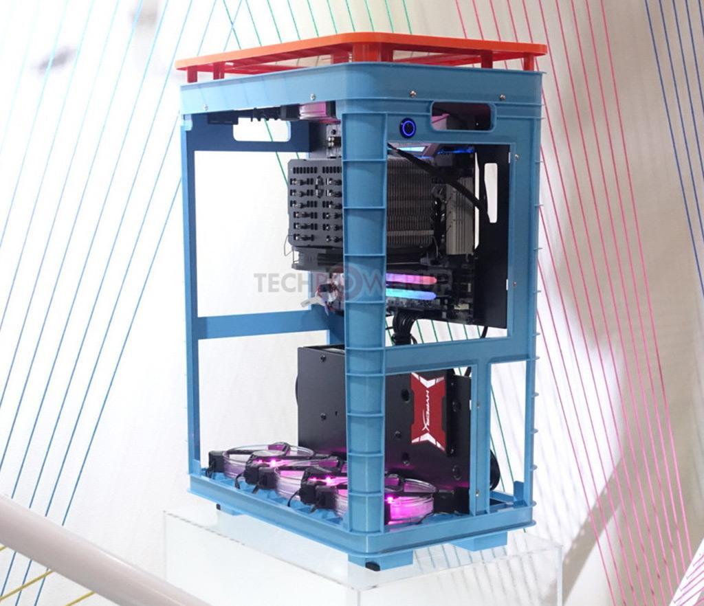 In Win экспериментирует с корпусами, напечатанными на 3D-принтере
