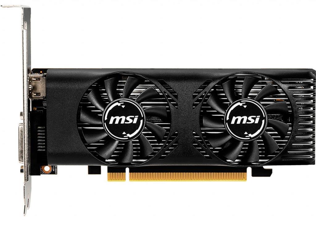 MSI выпускает видеокарту GeForce GTX 1650 4GT LP в низкопрофильном исполнении