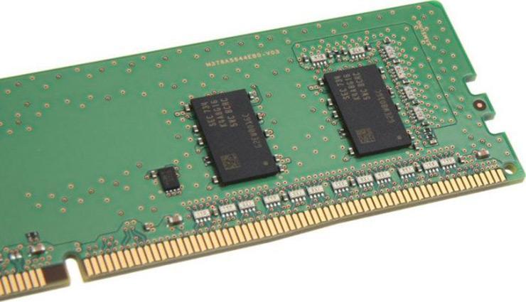 Начались продажи 32 ГБ модулей памяти Samsung DDR4-2666