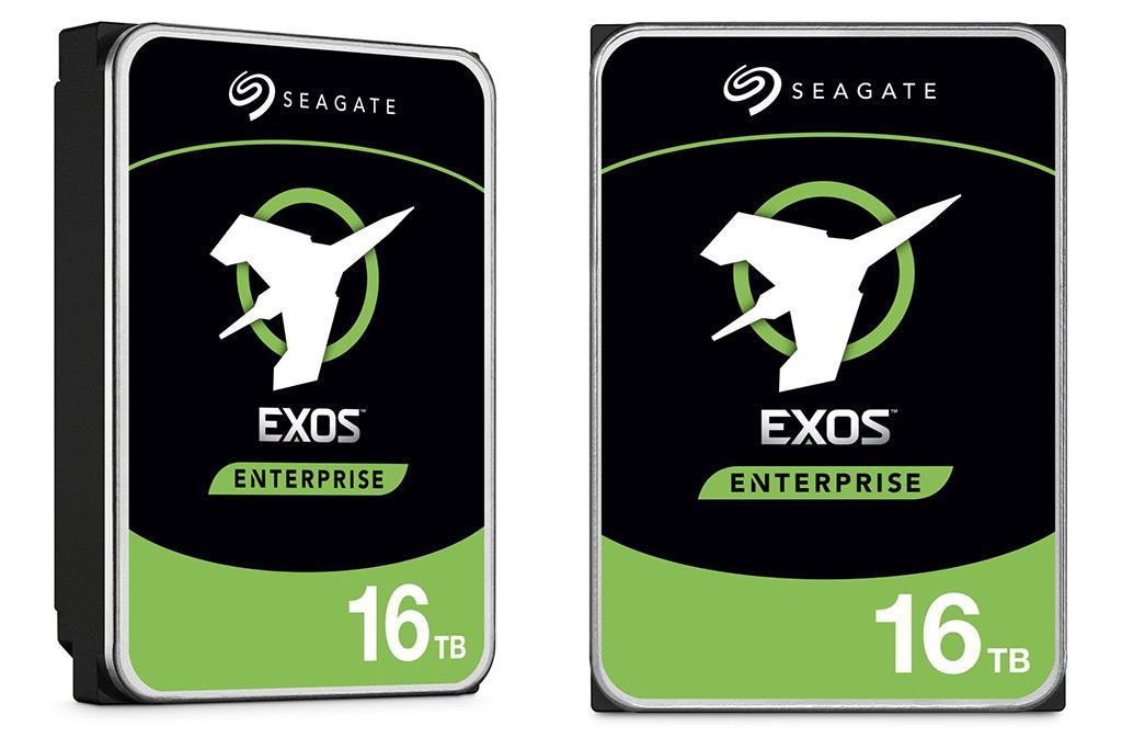 Seagate представила 16 ТБ HDD-накопители Exos, IronWolf и IronWolf Pro