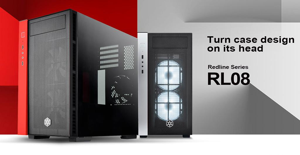 SilverStone предлагает корпус Redline RL08 с обратной компоновкой