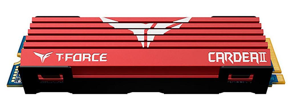 Team выпускает NVMe-накопители T-Force Cardea II