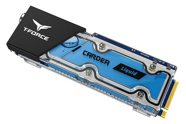 Team T-Force Cardea Liquid – первые NVMe-накопители с водяным охлаждением
