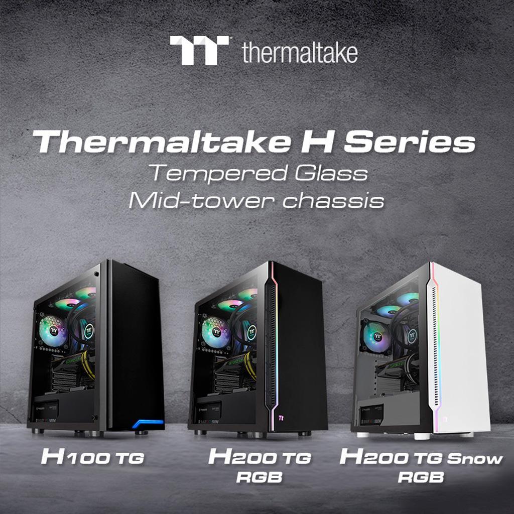 Thermaltake представила линейку корпусов H Series, включающую три модели