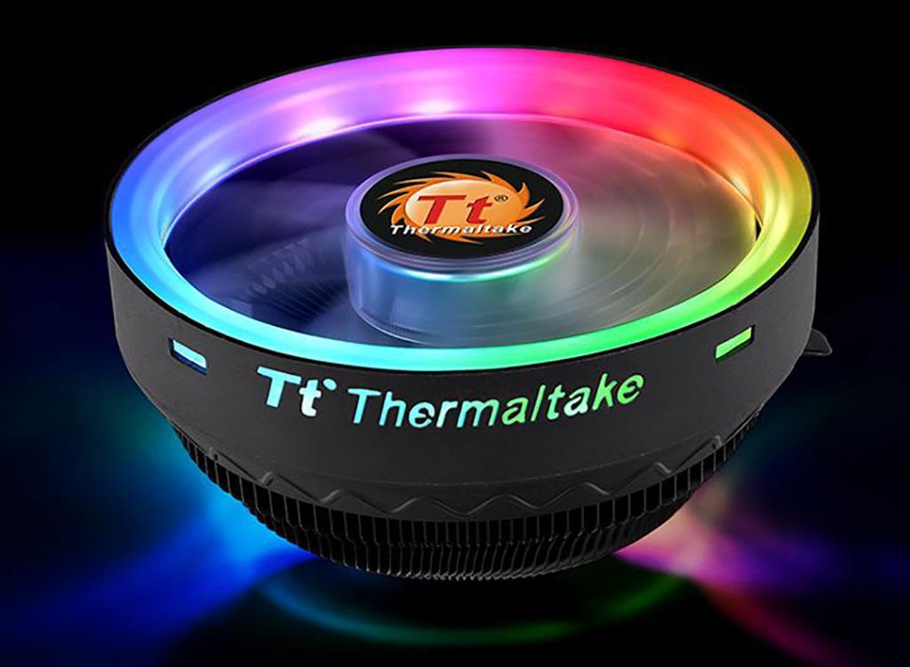 Thermaltake UX100 ARGB Lighting – кулер с ARGB-подсветкой всего за