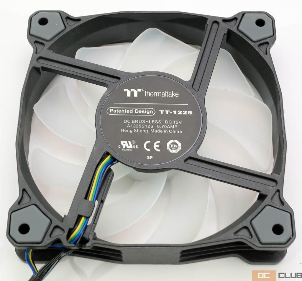 Thermaltake Pure Plus 12 RGB: обзор. Неплохие ARGB-вентиляторы за не слишком дорого