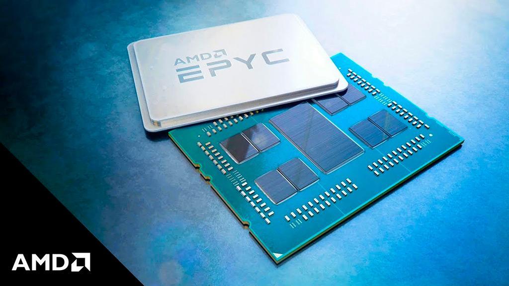 Процессоры AMD Epyc Rome будут представлены через неделю
