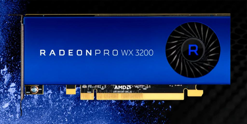 AMD Radeon Pro WX 3200 – входной билет к преимуществам Pro-карт за 0