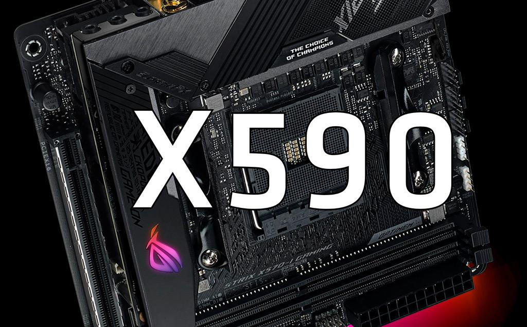 ASUS разрабатывает материнские платы на чипсете AMD X590 и X599