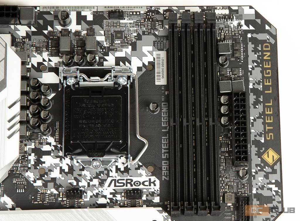 ASRock Z390 Steel Legend: обзор. Простота не порок