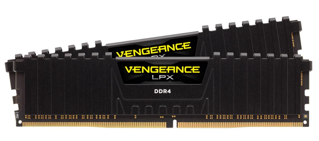 Corsair показала модули памяти Vengeance LPX DDR4-3000 ёмкостью 32 ГБ