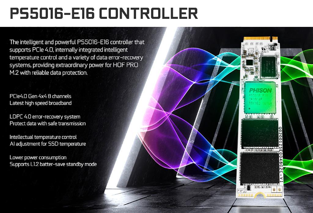 Galax представила накопители HOF Pro M.2 SSD на базе PCI-Express 4.0