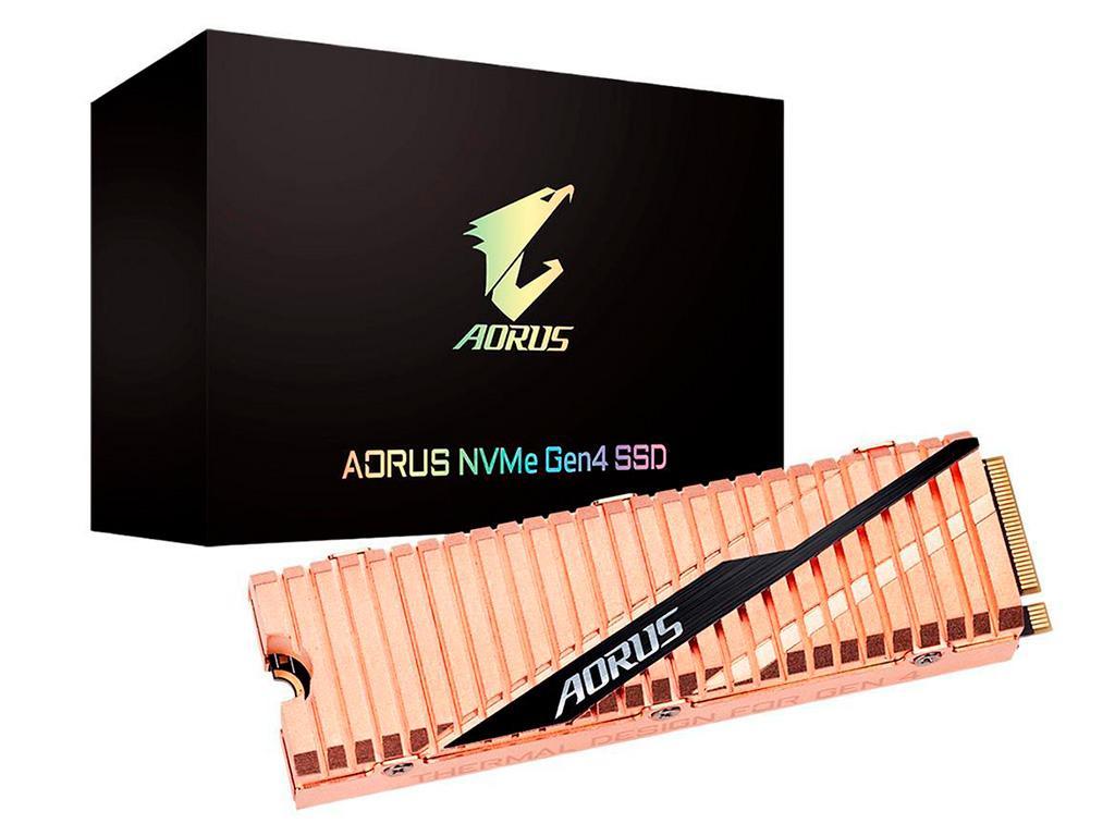 Накопители Gigabyte Aorus с интерфейсом PCI-Express 4.0 появились на Newegg
