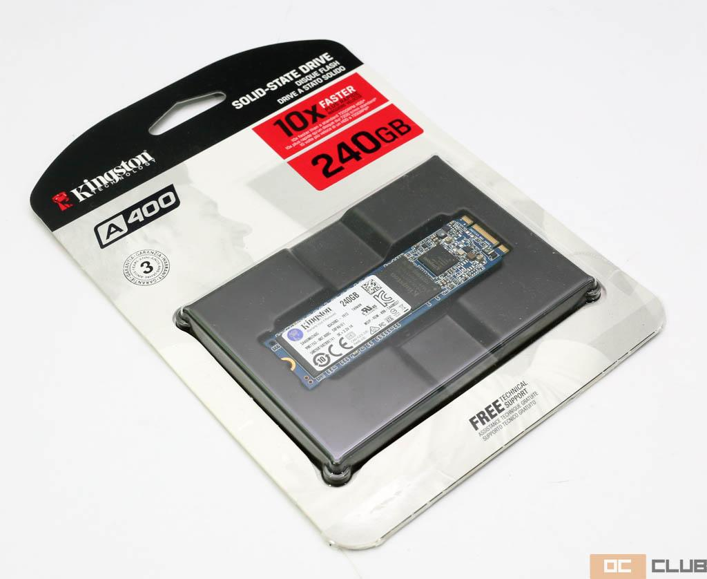 Kingston SSDNow A400 M.2 240 ГБ: обзор. Всё тот же народный SSD, но в новом формате