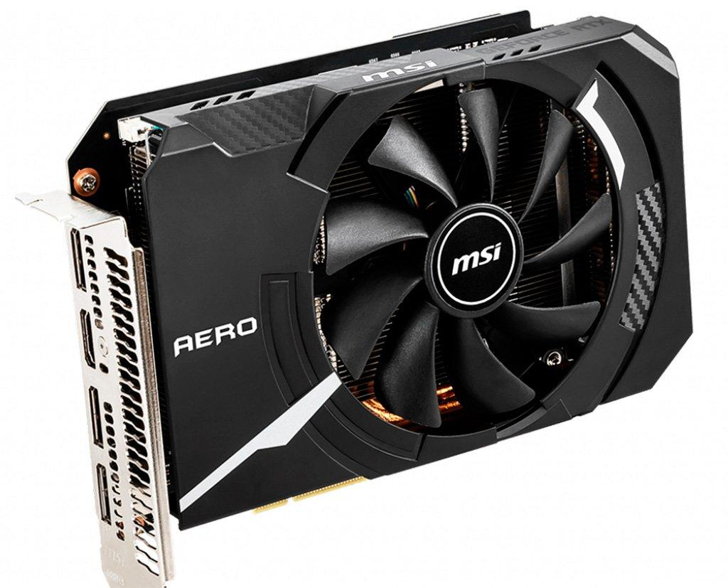 Видеокарта MSI GeForce RTX 2060 Super Aero ITX имеет длину всего 174 мм