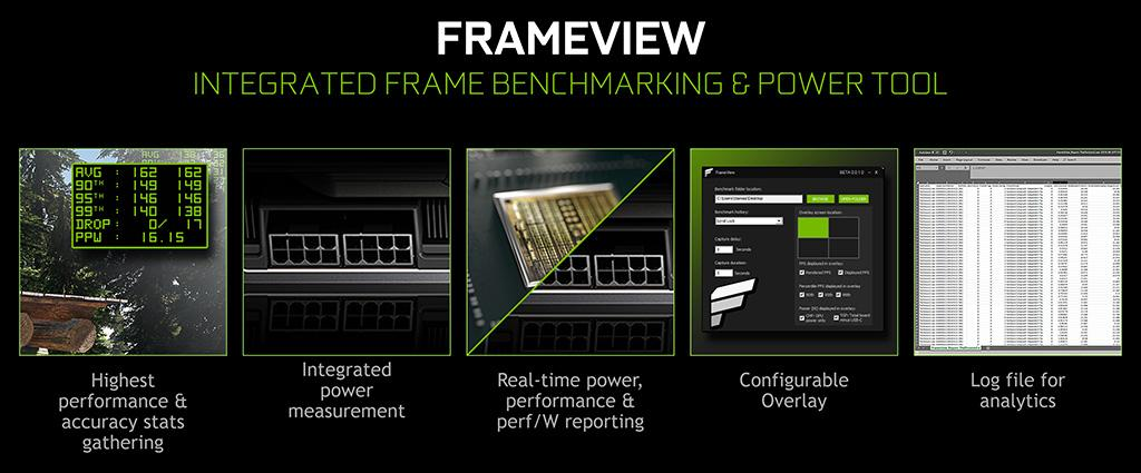 NVIDIA FrameView – утилита для отображение fps и потребления видеокарты, или прощай Fraps
