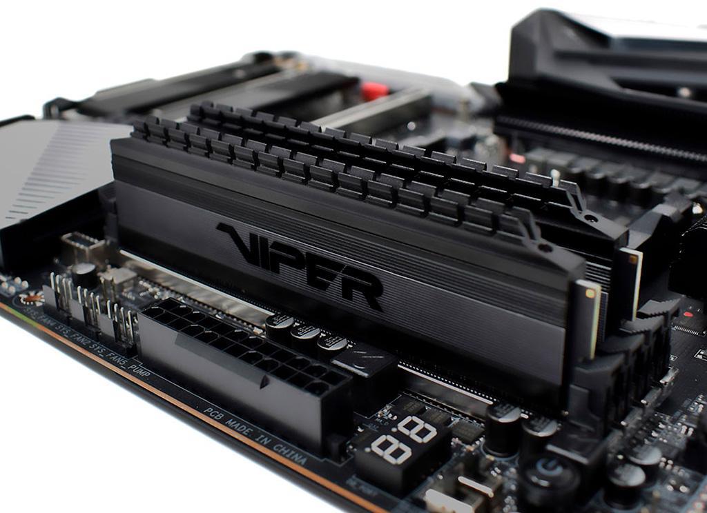 Patriot Viper 4 DDR4 Blackout – оперативная память специально для AMD Ryzen 3000
