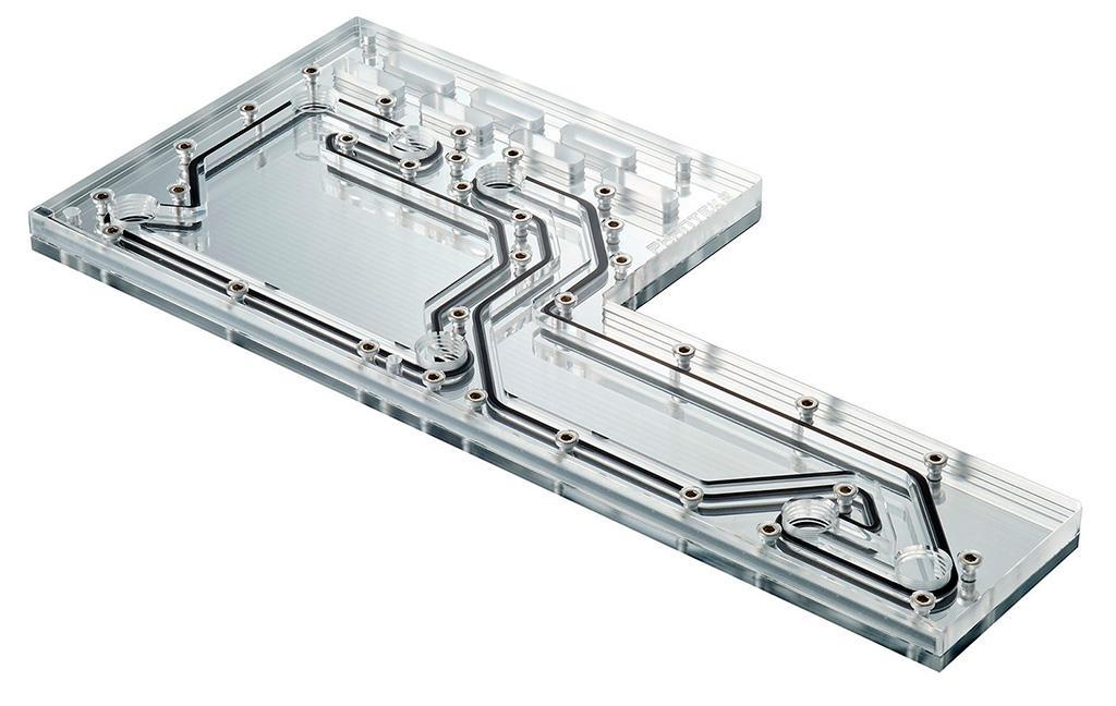 """Phanteks предлагает уникальную """"распределительную плиту"""" для кастомных СВО - Glacier D140"""