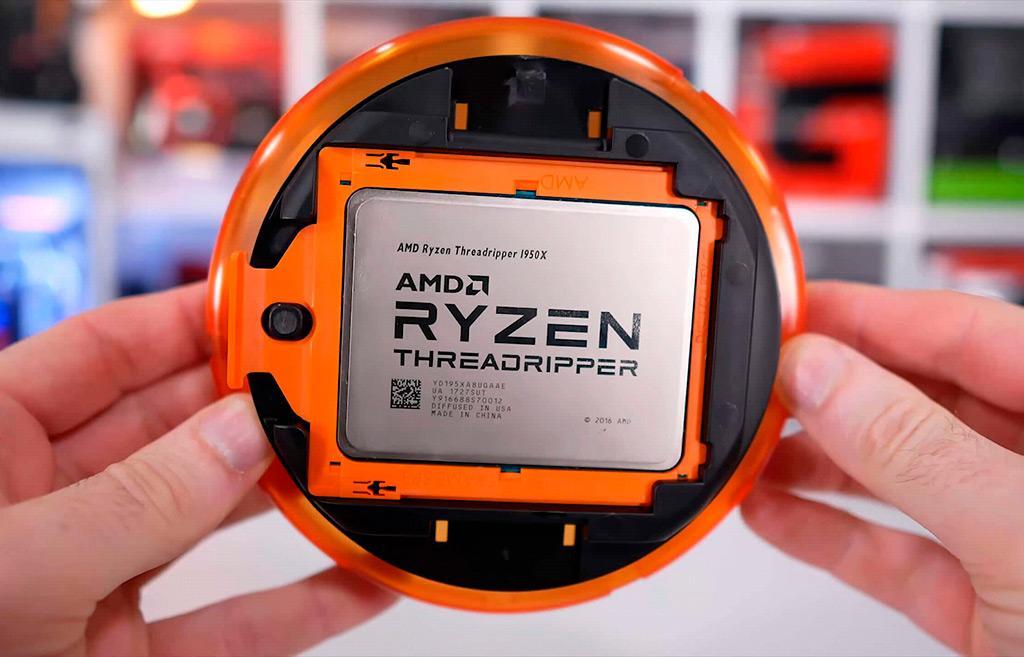 Инженерный образец AMD Ryzen Threadripper 3000 оставил след