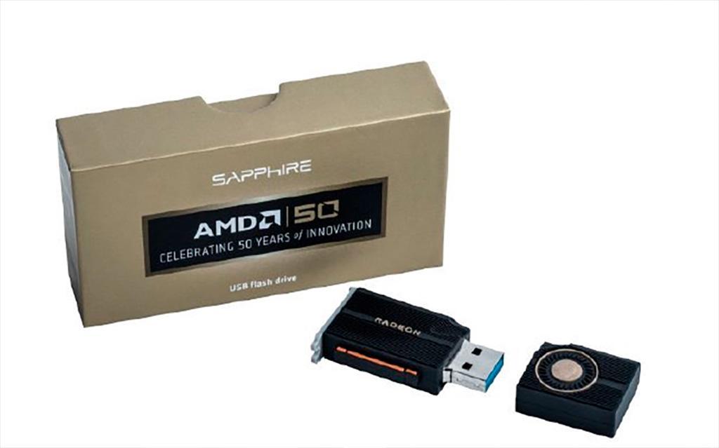 Флешки-видеокарты Sapphire бывают ещё и в «исполнении» Radeon RX 5700 XT