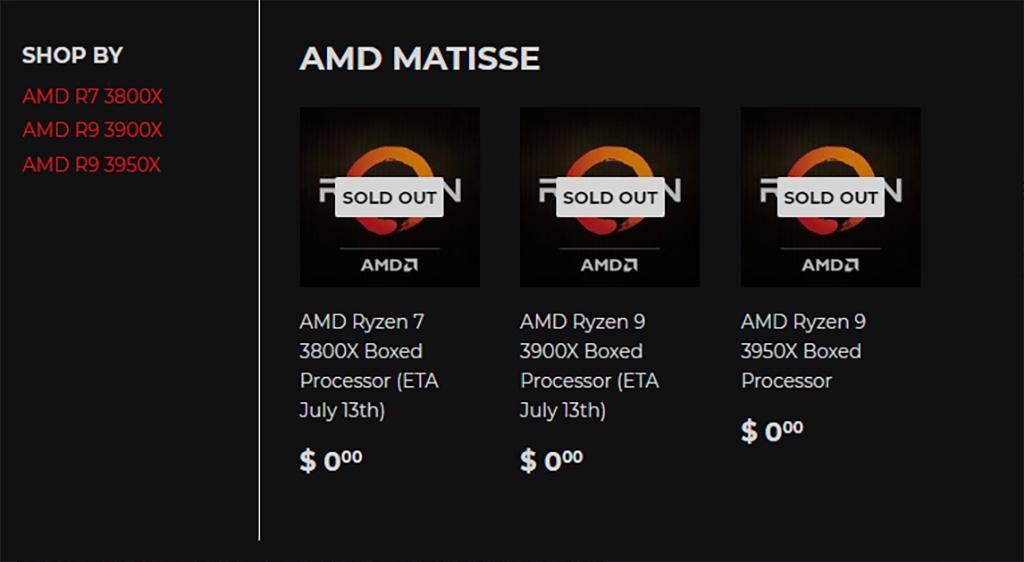 Silicon Lottery сможет предложить отборные AMD Ryzen 3000 через несколько дней после запуска