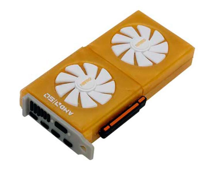 Sapphire одаривает покупателей видеокарт флешкой, стилизованной под видеокарту