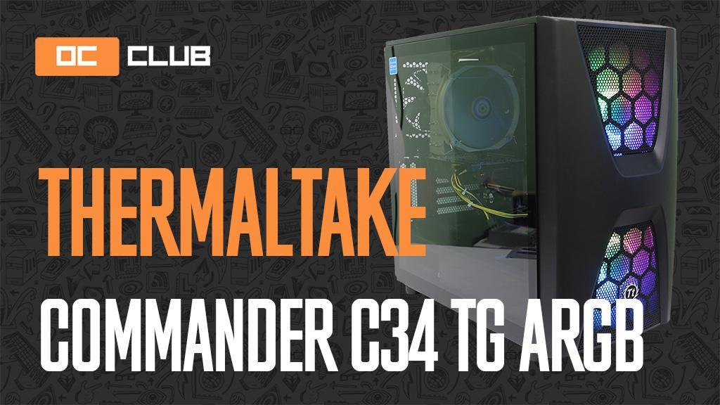 Thermaltake Commander C34: обзор. Корпус на твёрдую 5 (с минусом)
