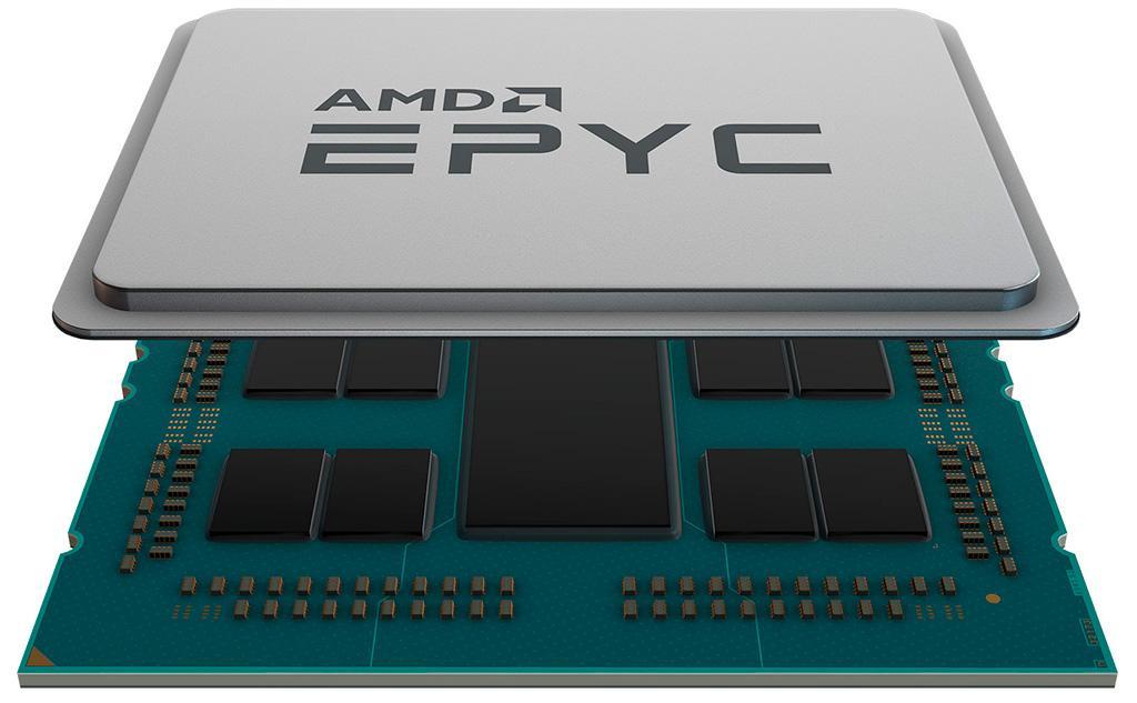 AMD официально представила процессоры Epyc второго поколения (Rome)